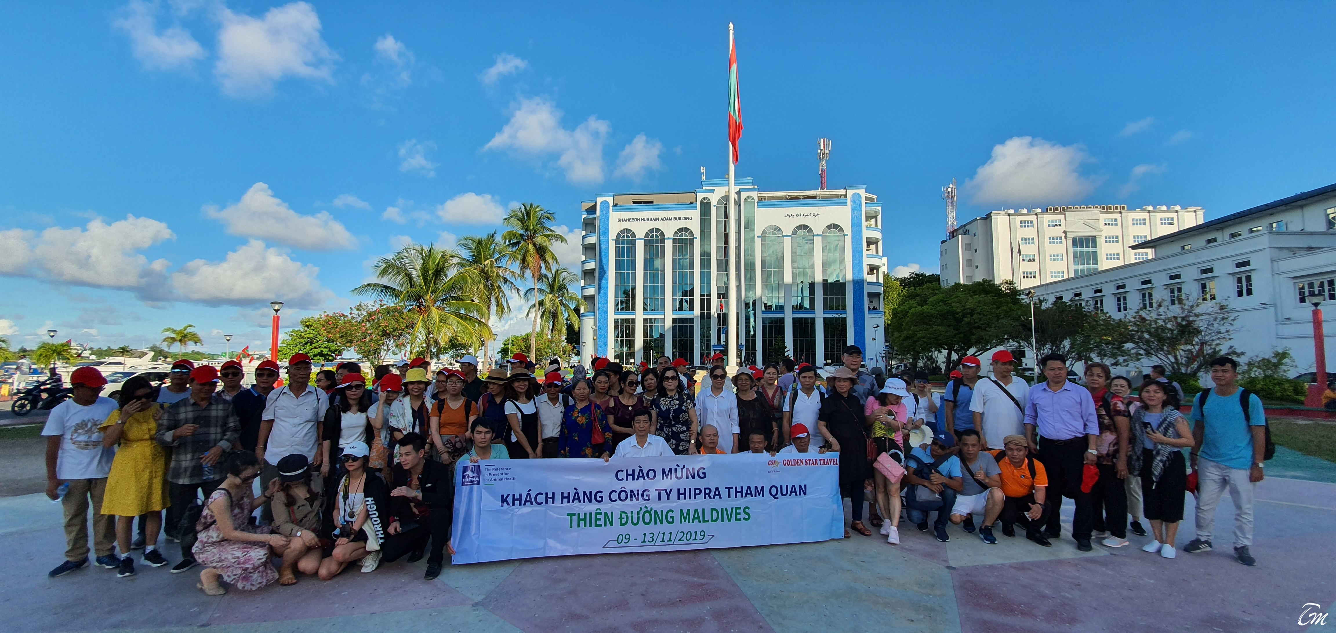 Successfully organized holidays for 92 pax group from Vietnam