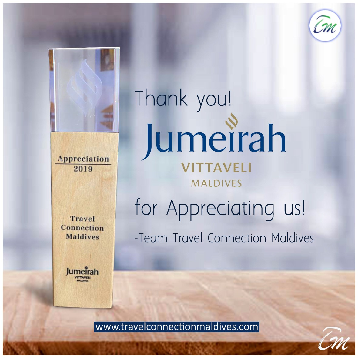Jumeirah Vittaveli Appreciation