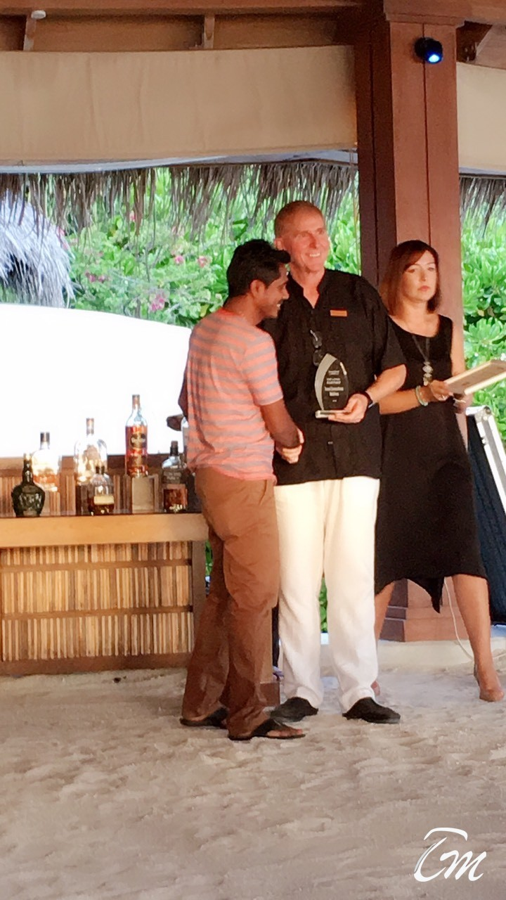 Top Loyal Partner 2018 by Dusit Thani Maldives
