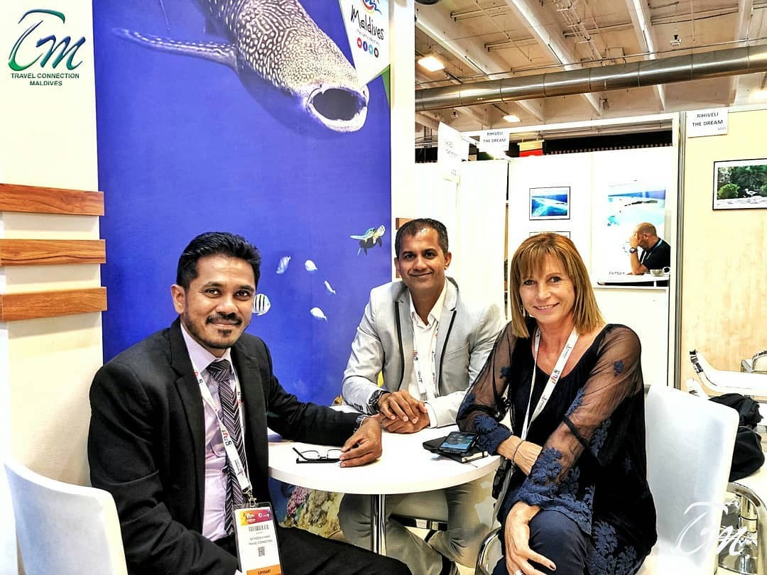 Team Travel Connection Maldives At IFTM Topresa 2018