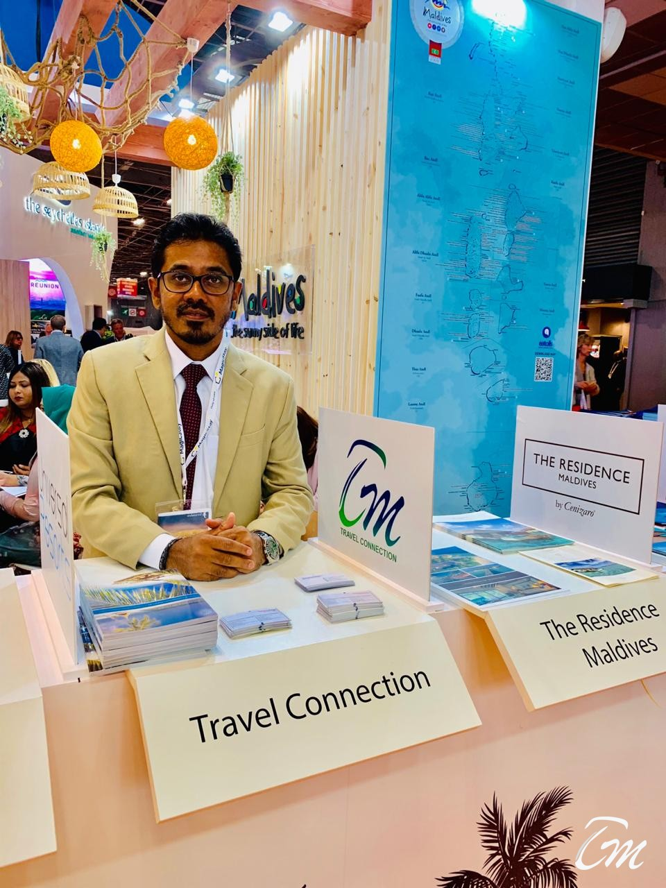Team Travel Connection Maldives At IFTM Topresa 2019