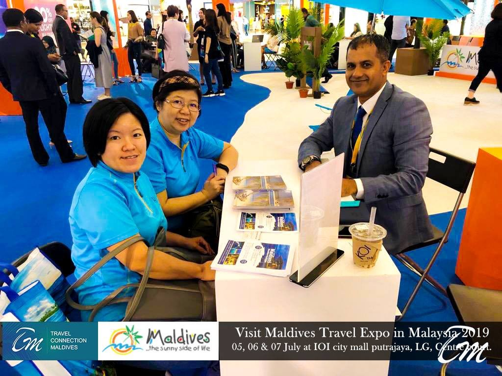 Team Travel Connection Maldives At Travel Expo Malaysia