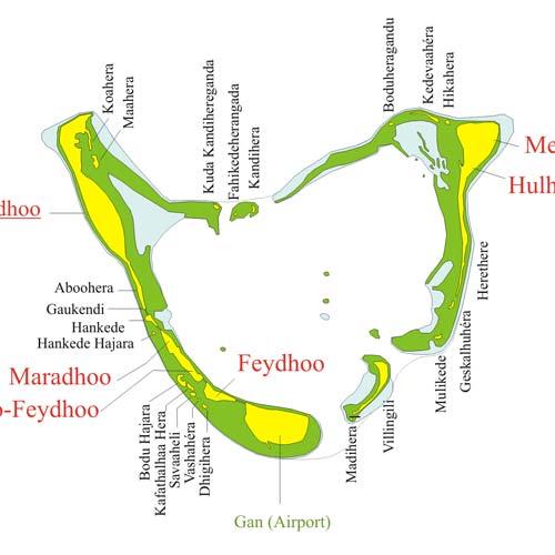 Maldives Atoll Seenu Atoll Maldives