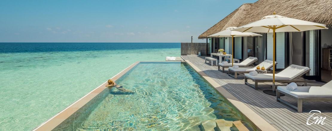 Como Maalifushi Water Villa Pool