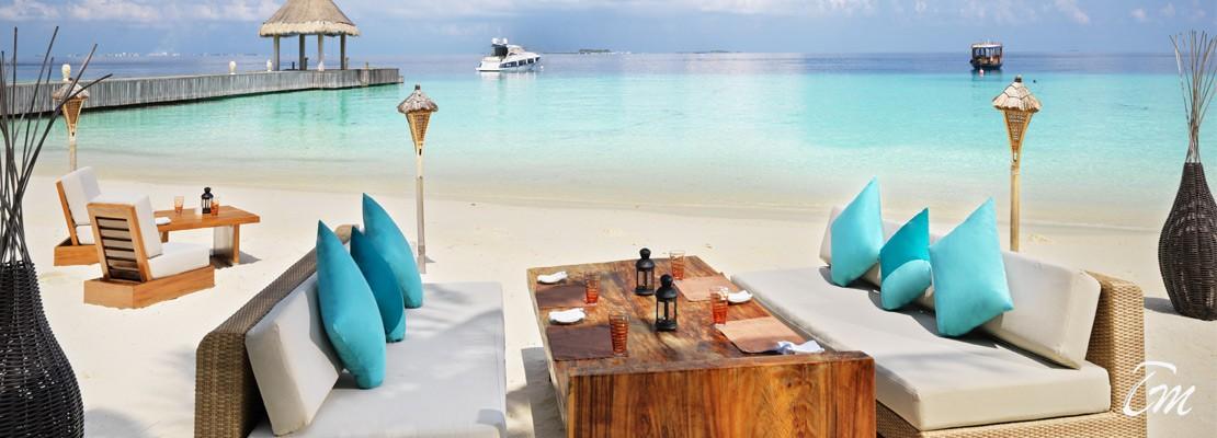 Jumeirah Vittaveli Maldives beach