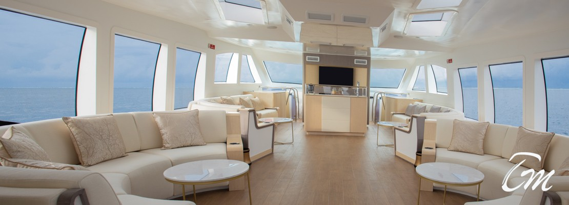 Jumeirah Vittaveli New Catamaran Interior