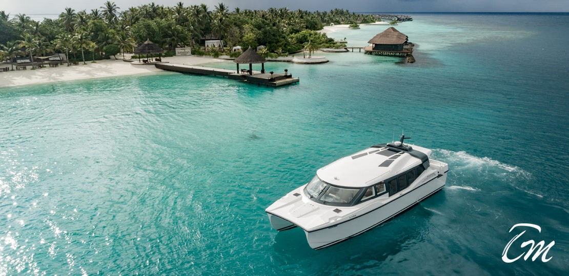 Jumeirah Vittaveli New Catamaran Exterior