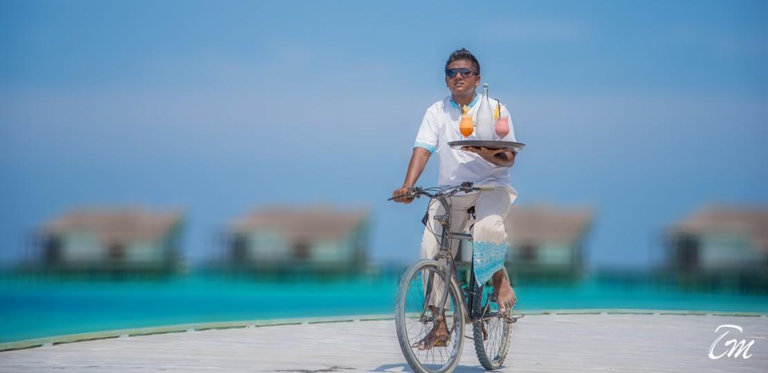 Jumeirah Vittaveli Maldives Room Service