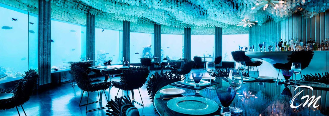 Sub Six Under Water Bar At Niyama Private Island