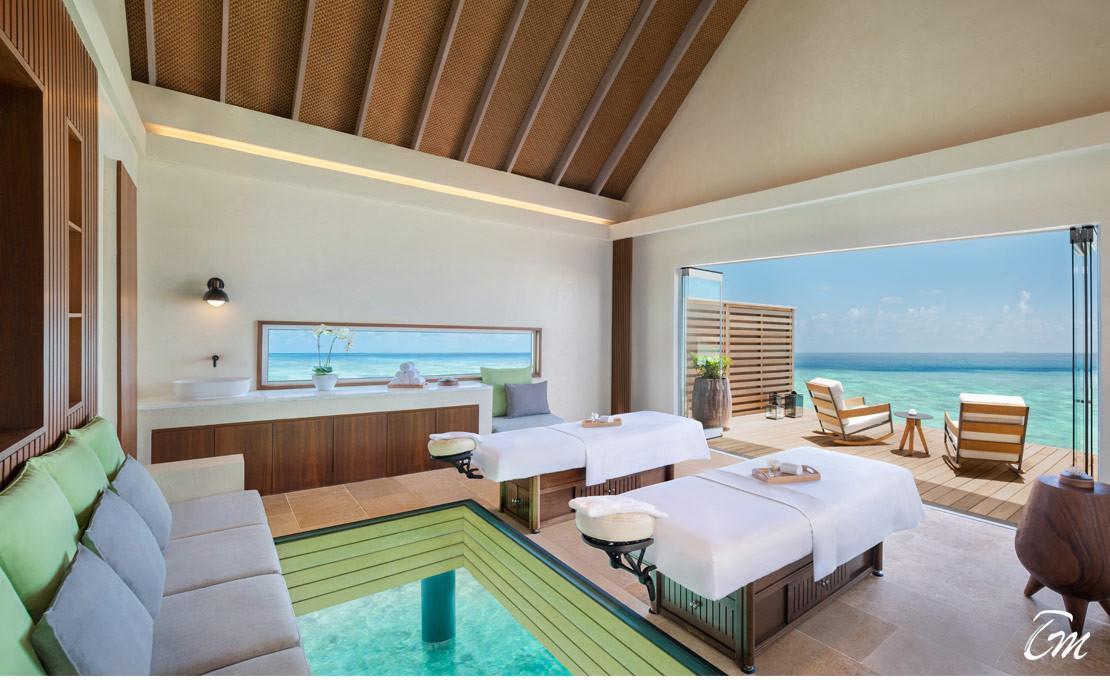 Aqua Wellness Center Is Launched At Waldorf Astoria Maldives Ithaafushi