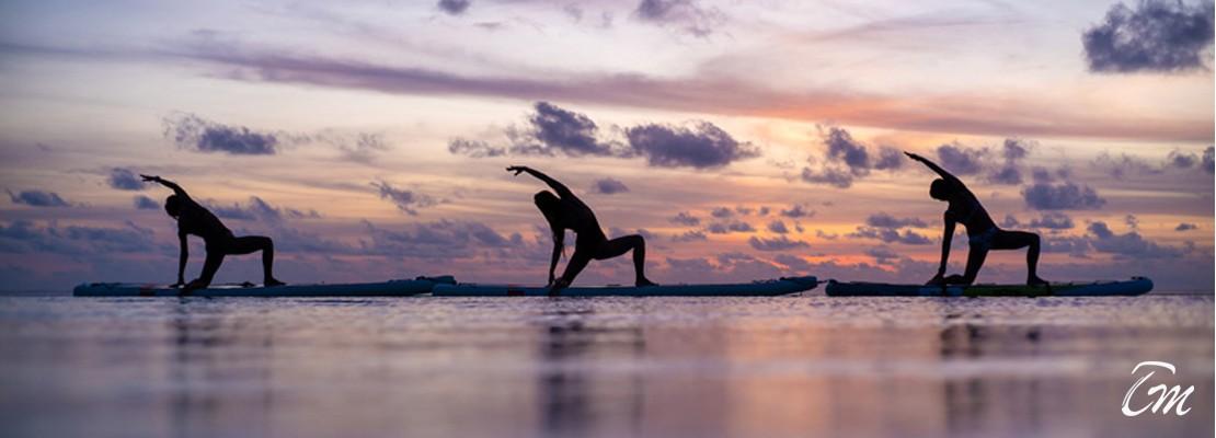 Coco Bodu Hithi First Floating Yoga Studio