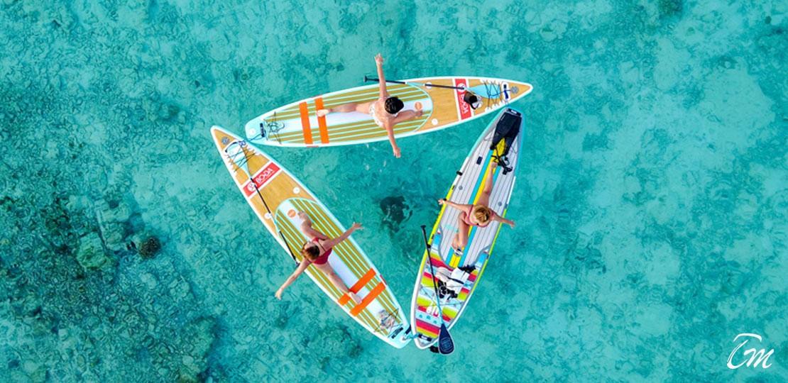 Coco Boduhithi Maldives First Floating Yoga Studio