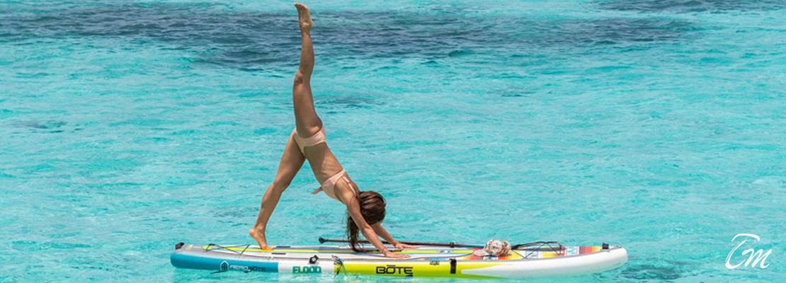 Coco Bodu Hithi Maldives Floating Yoga Studio