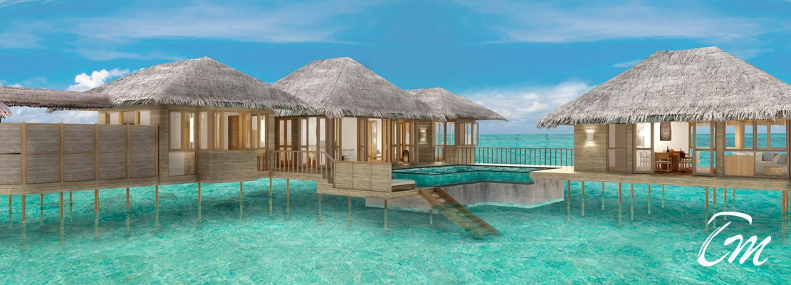 Gili Lankan Fushi Maldives New Family Pool Villa