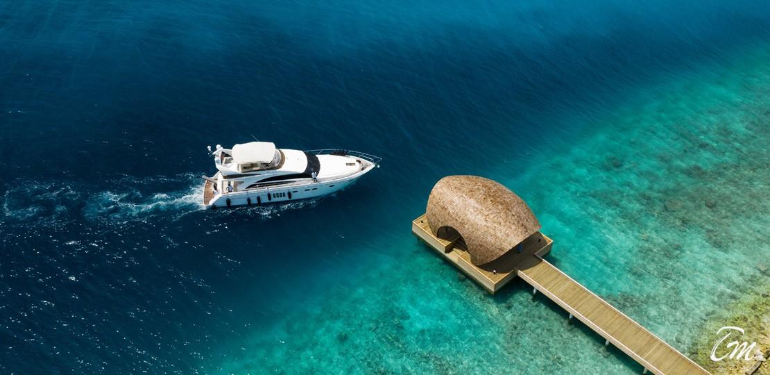 Maafushivaru Maldives Arrival Jetty
