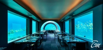 Maldives Undersea Restaurant H2O at You And Me Cocoon Maldives