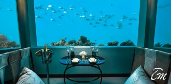 Maldives Under Water Restaurant M6M At Ozen By Atmosphere Maldives