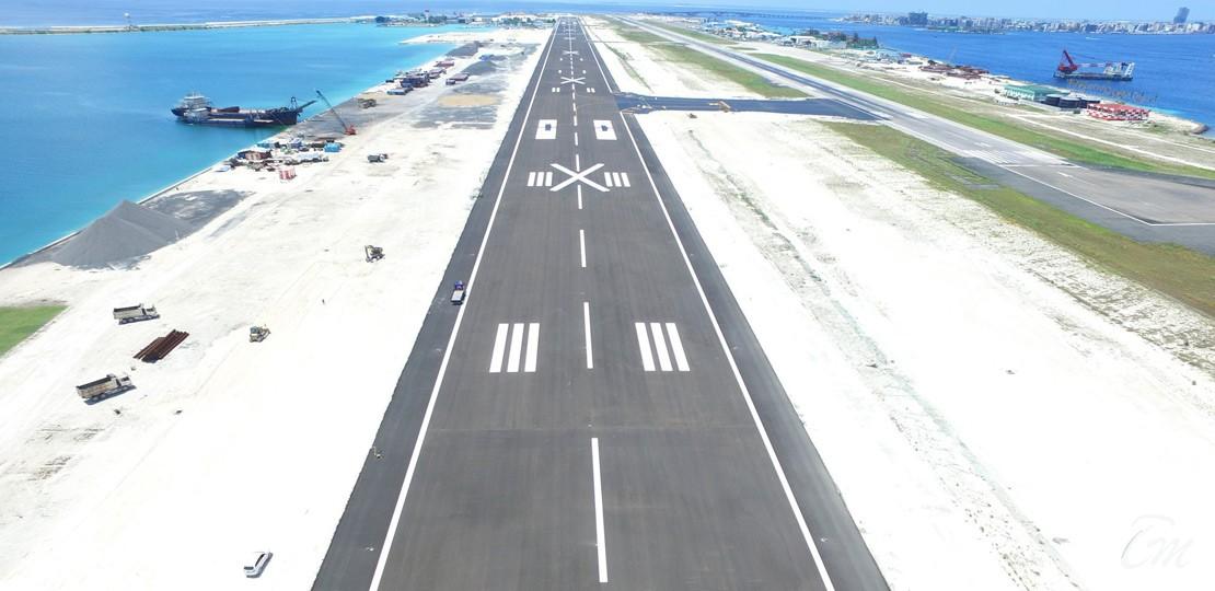 New Runway At Velana International Airport Male