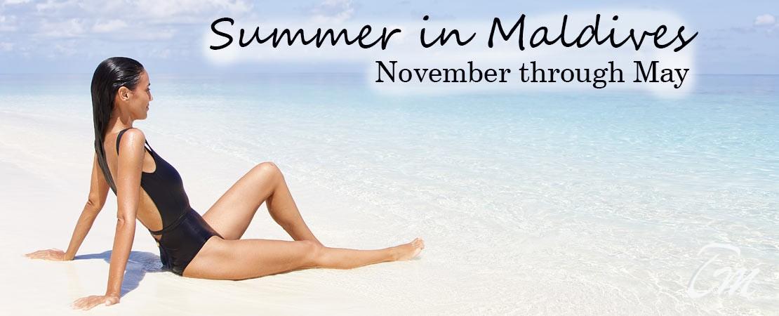 Maldives Summer Season - Starts From November Through May