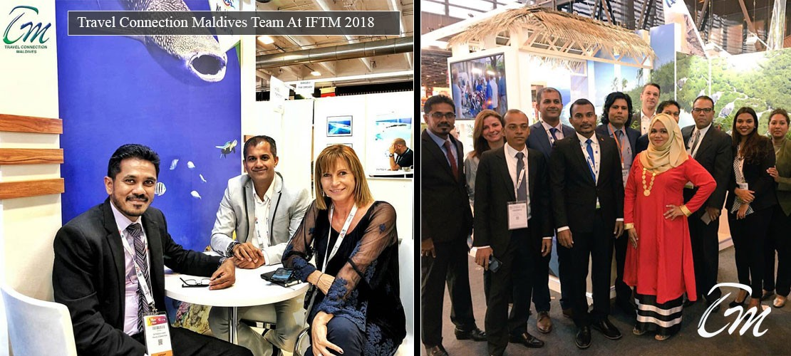 Team Travel Connection Maldives At IFTM 2018 File Photo