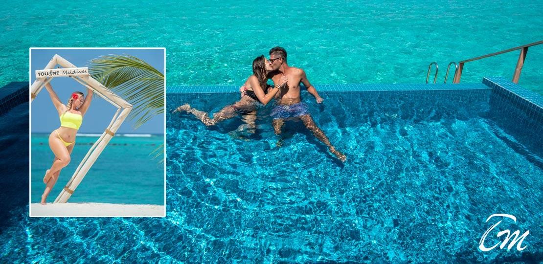 You and me Maldives celebrity holidays