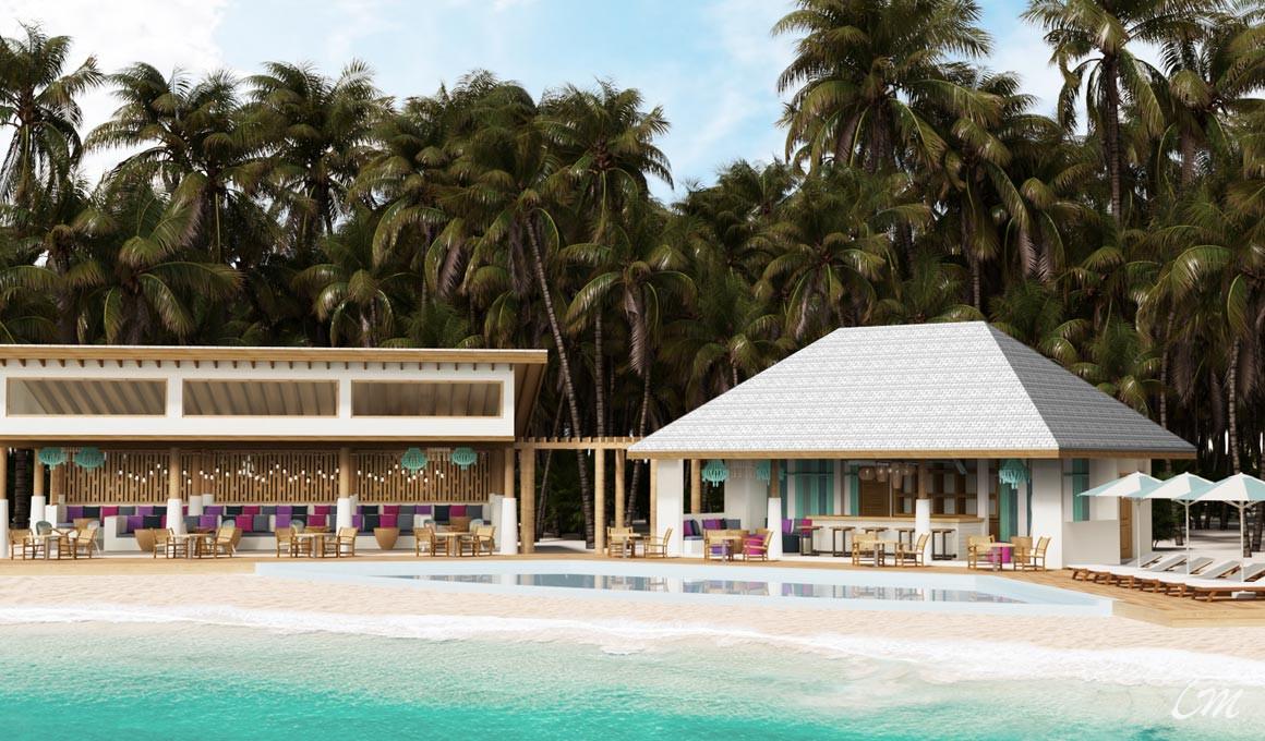 Cinnamon Hakuraa Huraa Maldives - Pool And Bar