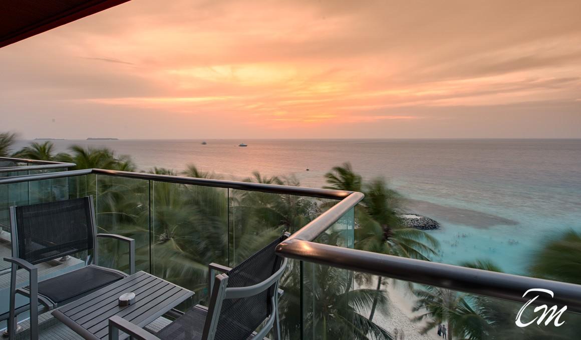 Kaani Grand Hotels Seaview Maafushi Sunset