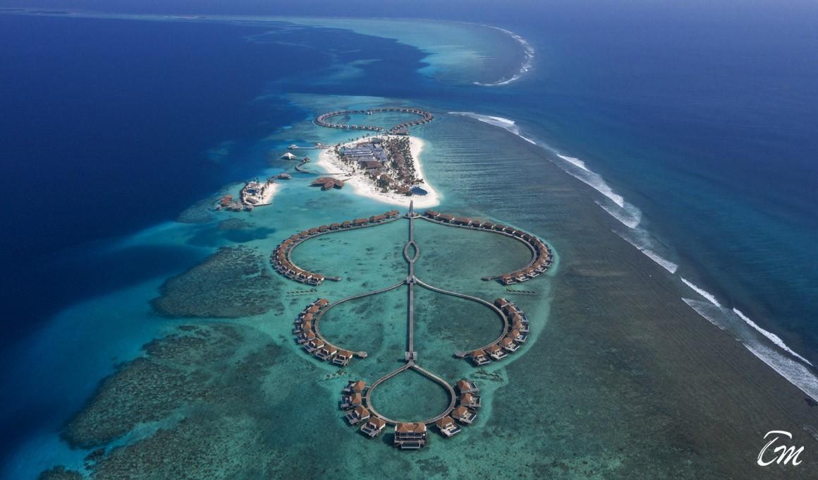 Radisson Blu Resort Maldives Aerial View