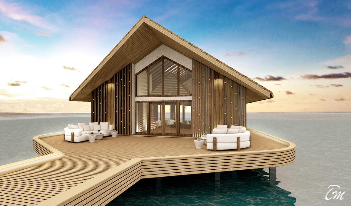 Radisson Blu Resort Maldives Arrival Lounge