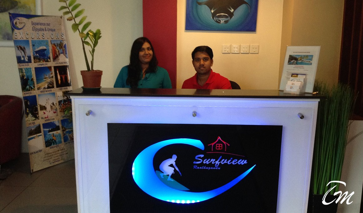 Surfview airport hotel Maldives - Reception
