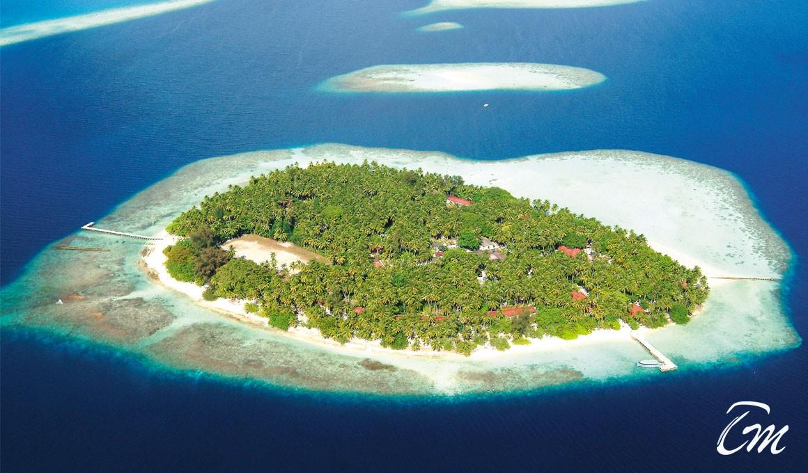 Biyadhoo Island 3* Resort Island View