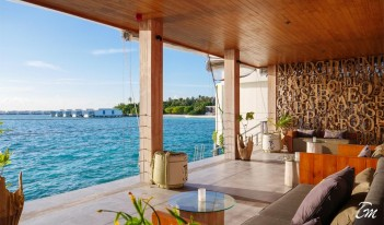 Amilla Fushi Resort and Residences Maldives - 1 OAK LOUNGE