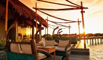 Ayada Maldives Dining Ile De Joie Restaurant View