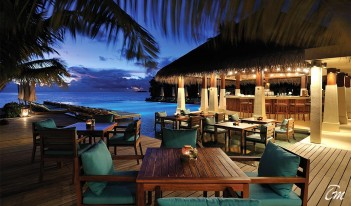 Ayada Maldives dining Zero Degree Restaurant