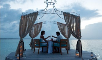 Ayada Maldives Private Dining Couple