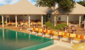 Cinnamon Hakuraa Huraa Maldives - Pool Bar