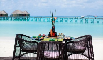 Constance Halaveli Maldives - Kaika Sushi