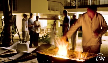 Holiday Inn Resort Kandooma Maldives - In-Room Dining BBQ