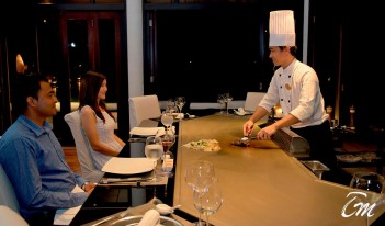 Teppanyaki - Lily beach resort and spa Maldives