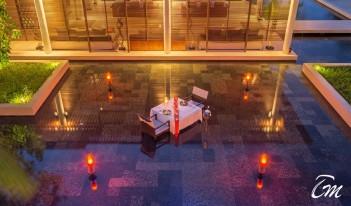 Private Dining Garden -Park hyatt Maldives Hadahaa