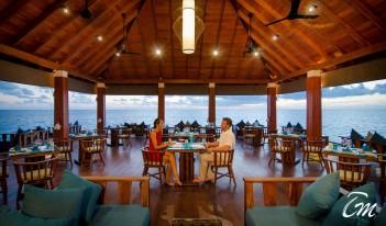 Summer Island Maldives - AVI Overwater Restaurant