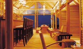 COMO Cocoa Island Maldives - Faru Bar Interior