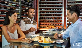 Conrad Maldives Rangali Island - Cheese and Wine Bar