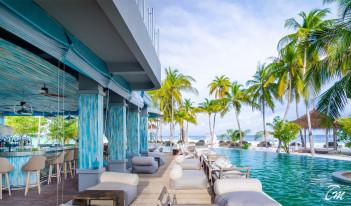 Finolhu - Baa Atoll Maldives - Beach Bar