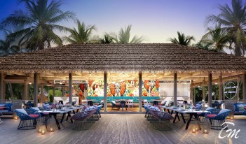 Hard Rock Hotel Maldives - The Elephant and The Butter?y
