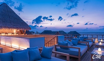 Heritance Aarah Resort Maldives - The Overwater Sky Bar Deck