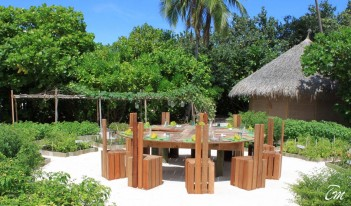 Six Senses Laamu Maldives - Chilli Table