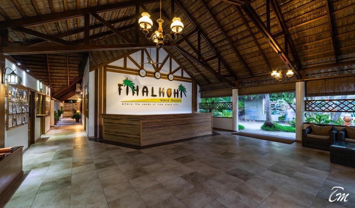 Fihalhohi Island Resort Maldives Reception