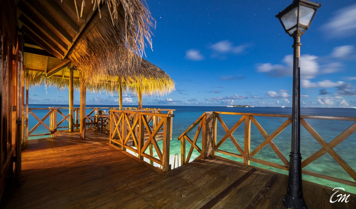 Fihalhohi Island Resort Maldives Water Villa Deck
