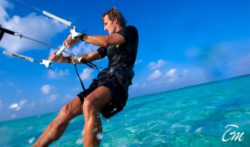 Angsana Velavaru Maldives Recreation Facility Kite Surfer